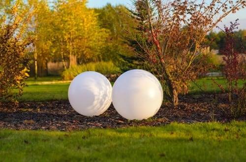 Sada solárních míčků