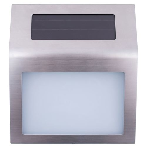 Stříbrné solární číslo IP44