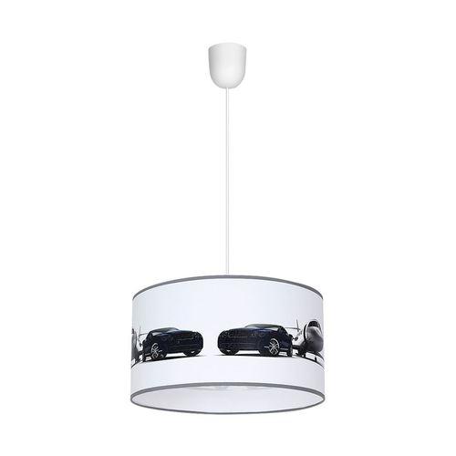 Vícebarevná závěsná lampa Jet 1x E27