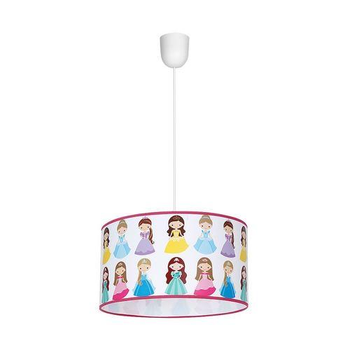 Vícebarevná závěsná lampa 1x E27 Princess