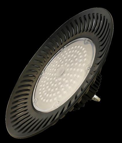 Černé technické svítidlo High Bay 200 W. Barva: neutrální IP65
