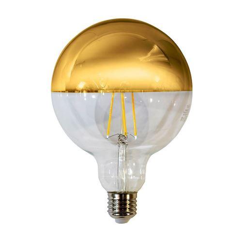 7,5 W žárovka LED s vlákny G125 E27 zlatá