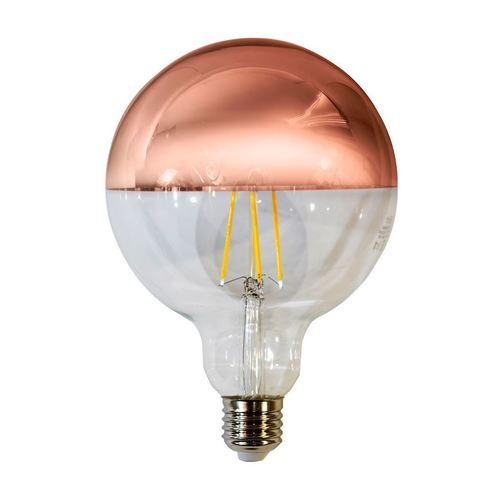 7,5 W žárovka LED s vlákny G125 E27 zlatá růže