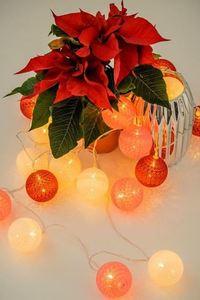 Vícebarevné LED bavlněné koule 20 ks. small 1