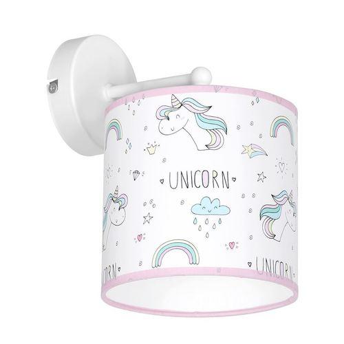 Vícebarevná nástěnná lampa Unicorn 1x E27