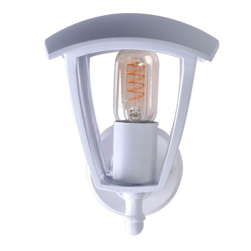 Fox White 1x nástěnná lampa E27 IP44