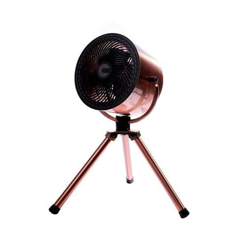 """Eko Light 10 """"stativový měděný stojící ventilátor"""
