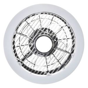 Mistral 45 WZ LED stropní svítidlo s ventilátorem, opálový difuzor small 1