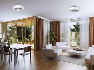 Mistral 45 WZ LED stropní svítidlo s ventilátorem, opálový difuzor small 13
