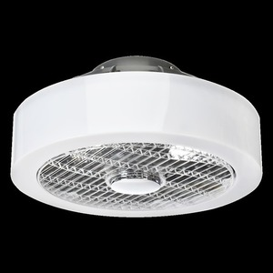 Mistral 45 WZ LED stropní svítidlo s ventilátorem, opálový difuzor small 8