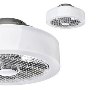 Mistral 45 WZ LED stropní svítidlo s ventilátorem, opálový difuzor small 0