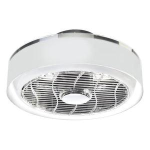 Stropní svítidlo Led Mistral 45 WZ s ventilátorem a průhledným stínidlem small 6
