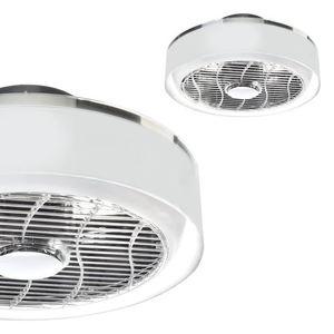Stropní svítidlo Led Mistral 45 WZ s ventilátorem a průhledným stínidlem small 0