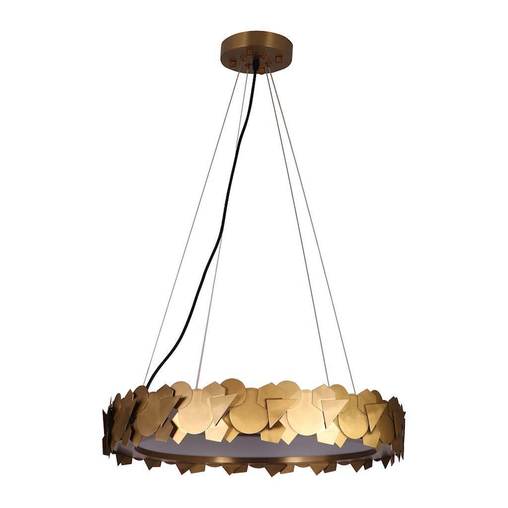 Závěsná lampa Soho Gold 24 W