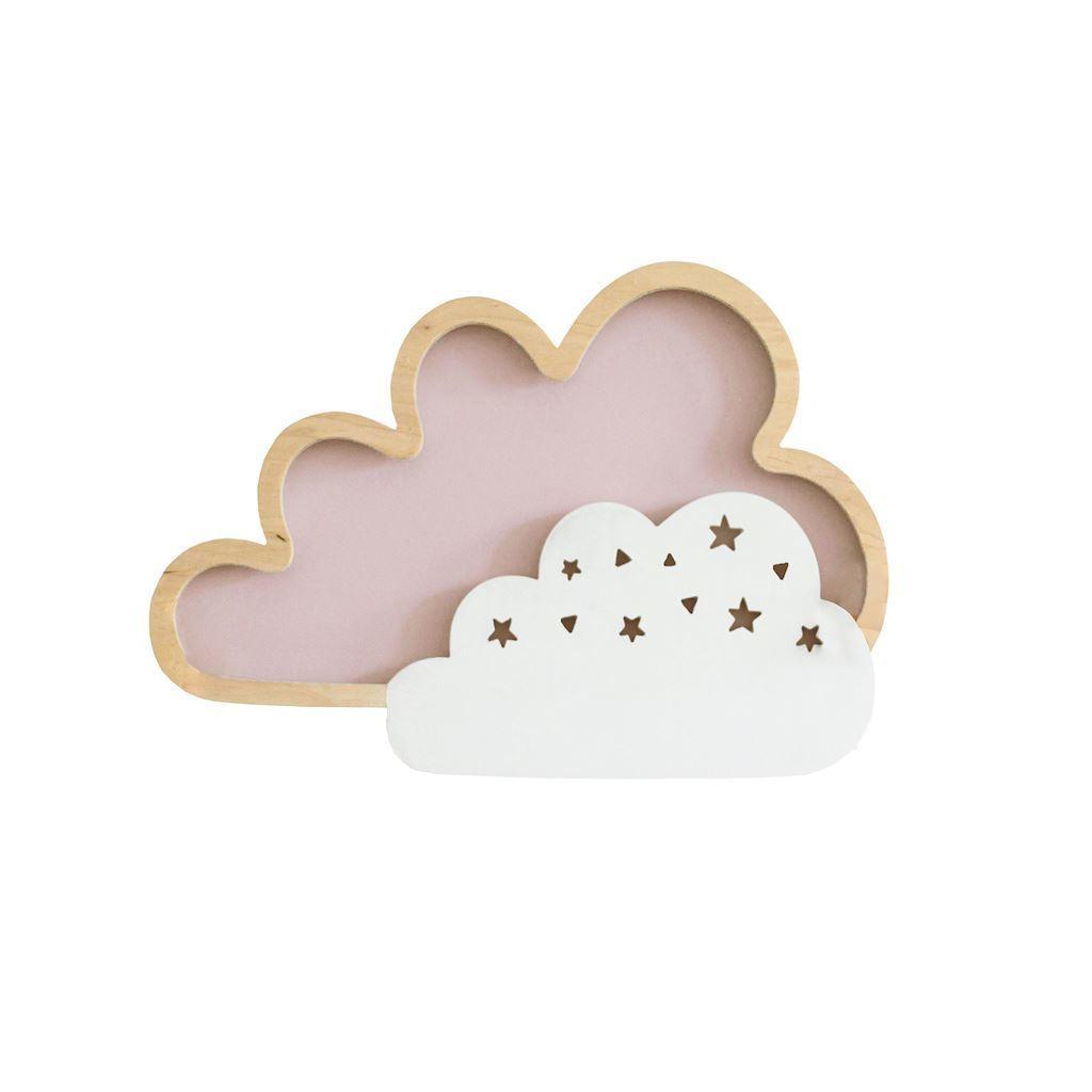 Dětská lampa Cloud Pink 8 W Led