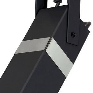 Černá nástěnná lampa Vidar Black / Chrome 1x Gu10 small 4
