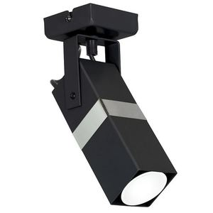 Černá nástěnná lampa Vidar Black / Chrome 1x Gu10 small 0