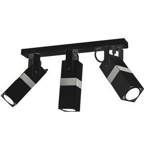 Černá stropní lampa Vidar Black / Chrome 3x Gu10 small 1