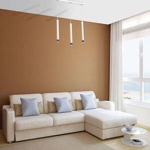 Bílá závěsná lampa Dani White / Chrome 3x Gu10 small 6