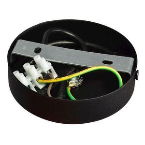 Černá nástěnná lampa Dani Black / Chrome 1x Gu10 small 3
