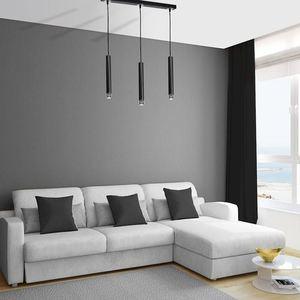 Černá závěsná lampa Dani Black / Chrome 3x Gu10 small 6