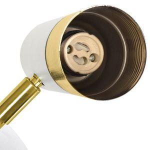 Dani bílá / zlatá 1x nástěnná lampa Gu10 small 2