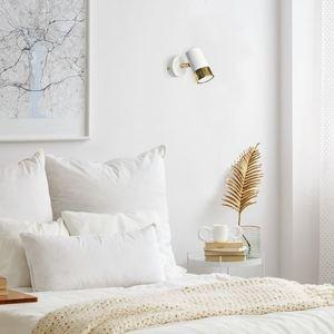 Dani bílá / zlatá 1x nástěnná lampa Gu10 small 6