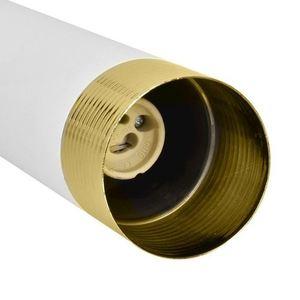 Bílá závěsná lampa Dani bílá / zlatá 3x Gu10 small 2