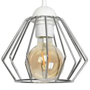 Bílá Norman White 1x nástěnná lampa E27 small 3