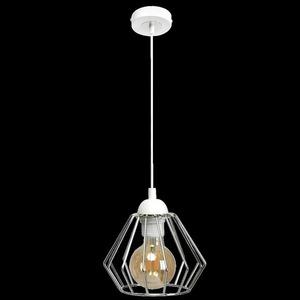 Závěsná lampa Norman White 1x E27 small 8