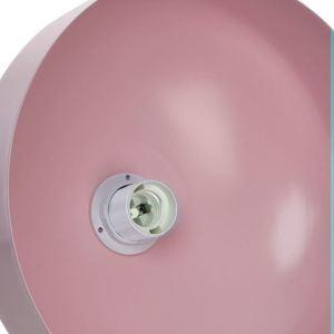 Růžová závěsná lampa Malmo Pink 1x E27 small 2