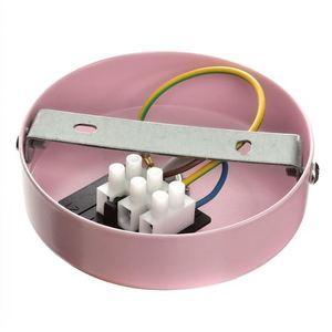 Růžová závěsná lampa Malmo Pink 1x E27 small 3