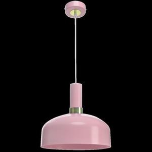 Růžová závěsná lampa Malmo Pink 1x E27 small 8