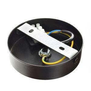 Černá závěsná lampa Malmo Black / Chrome 1x E27 small 3