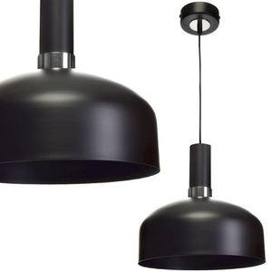 Černá závěsná lampa Malmo Black / Chrome 1x E27 small 0