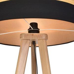 Černá stolní lampa Terra 1x E27 small 3