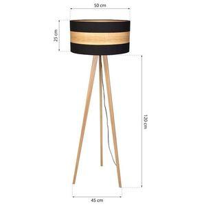 Stojací lampa Black Terra 1x E27 small 7