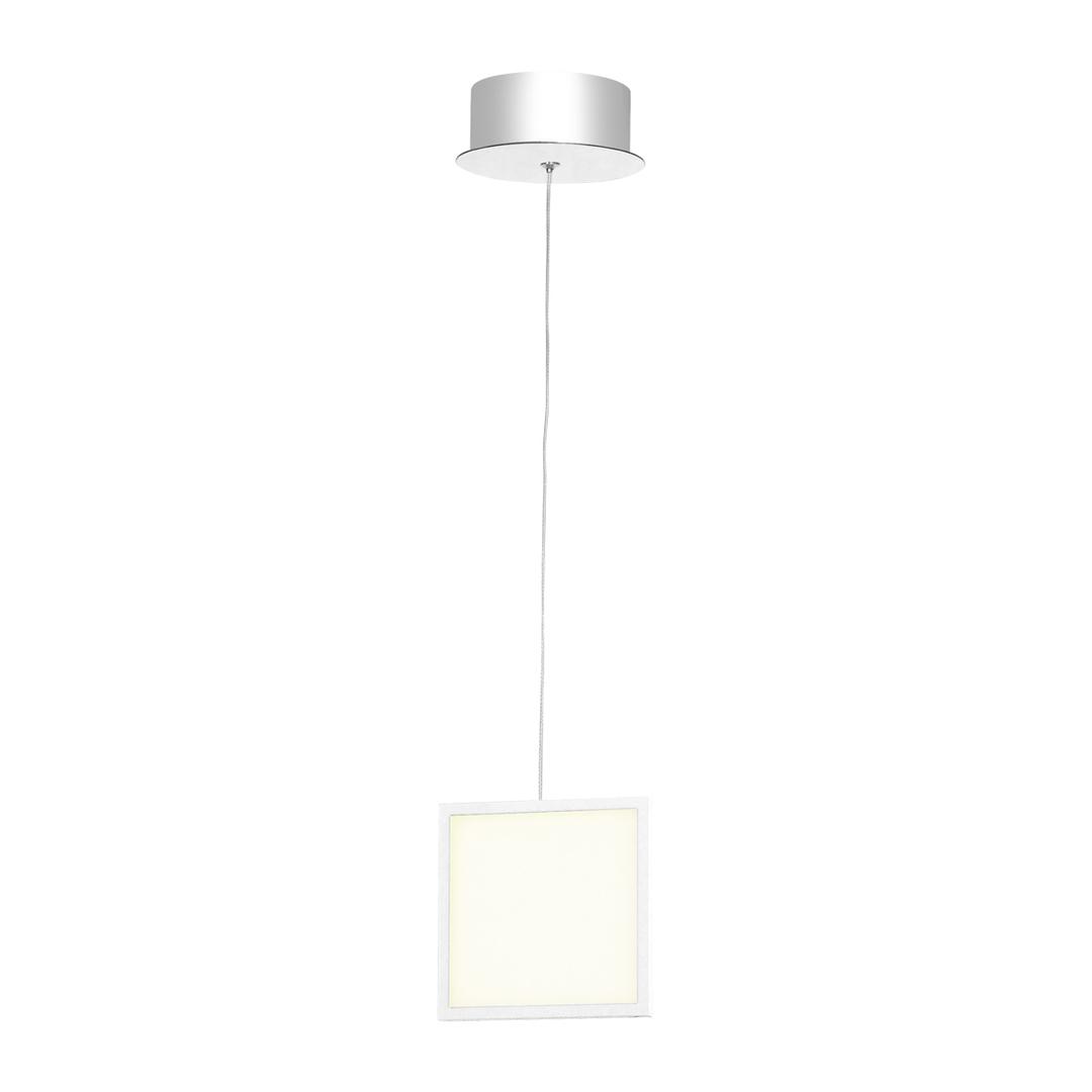 Bílá závěsná lampa Dixon 7 W
