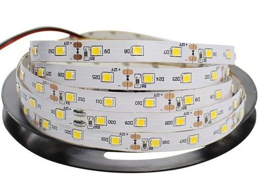 60 LED pásek 24 W. Studená bílá barva. Ip20. (5 metrů)