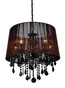 Mona černá nástěnná lampa small 8