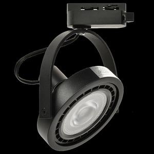 Černé pásové světlo Lugar Black 1x Ar111 Gu10 small 6
