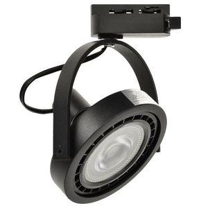 Černé pásové světlo Lugar Black 1x Ar111 Gu10 small 0