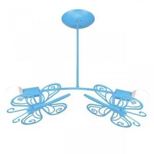 Motýl 2 stropní modrá small 5
