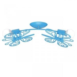 Motýl 2 stropní modrá small 0