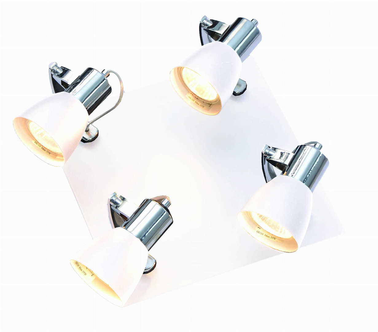 Ravenna 4 bílé stropní svítidlo