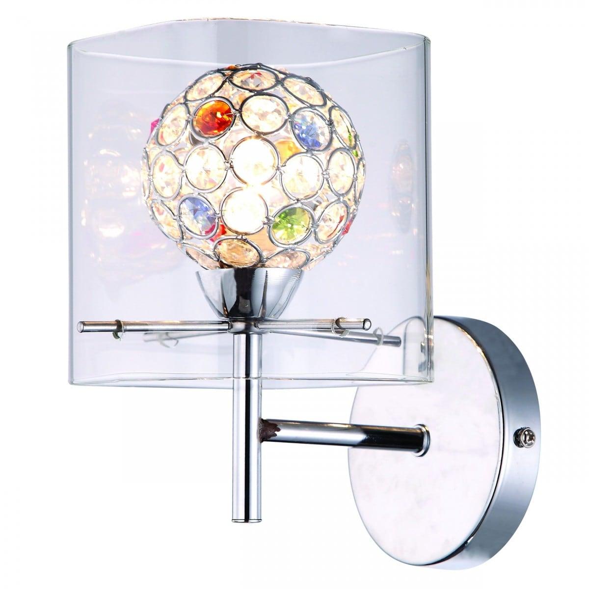 Žárovka nástěnná lampa vícebarevná