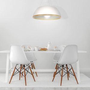 Bílá Maxim Závěsná Lampa 3x E27 small 1