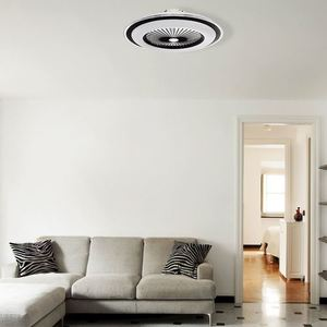 Bílé stropní svítidlo Zonda 60 WZ s ventilátorem small 13