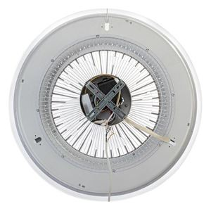 Bílé stropní svítidlo Zonda 60 WZ s ventilátorem small 2