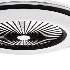 Bílé stropní svítidlo Zonda 60 WZ s ventilátorem small 4